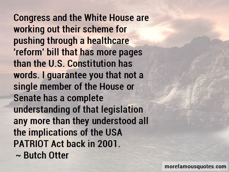 Quotes About The U.s. Constitution