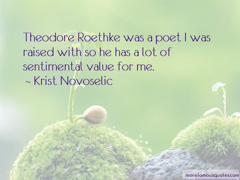 Quotes About Theodore Roethke