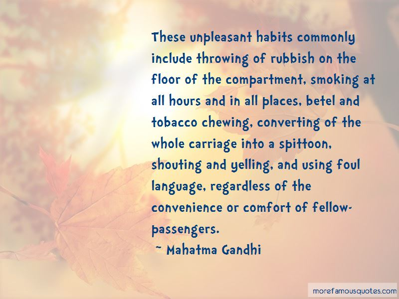 Quotes About Throwing Rubbish