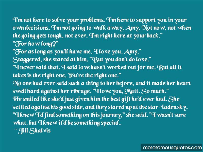 Quotes About Tough Love Decisions