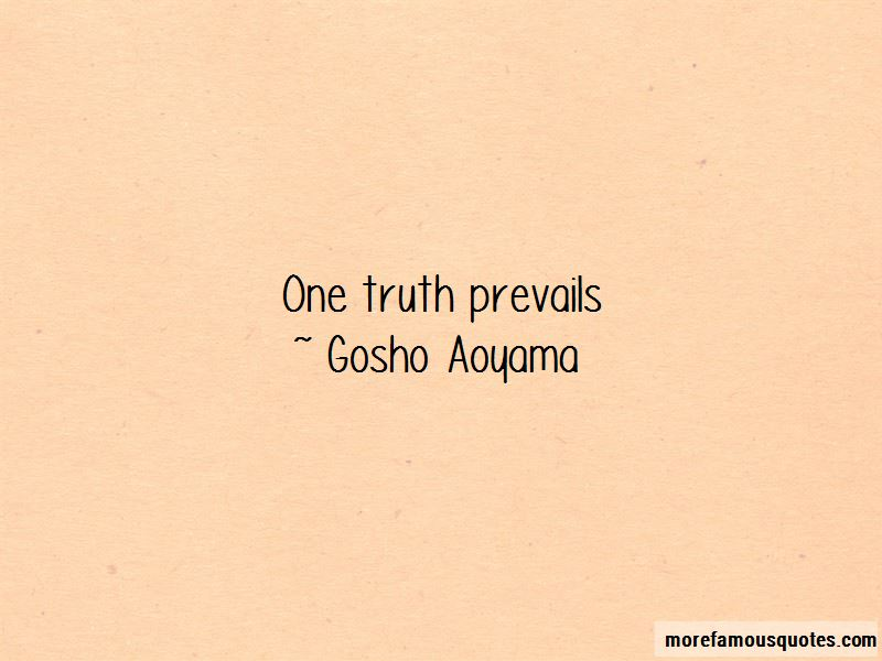 Quotes About Truth Prevails