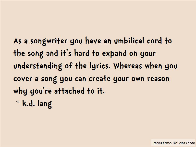 Quotes About Understanding The Lyrics