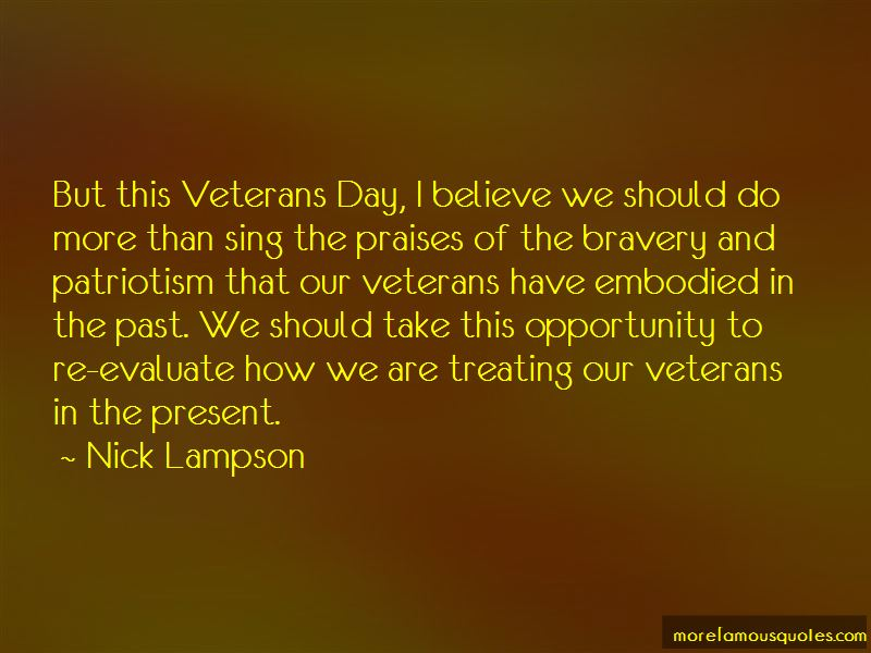 Quotes About Veterans Bravery