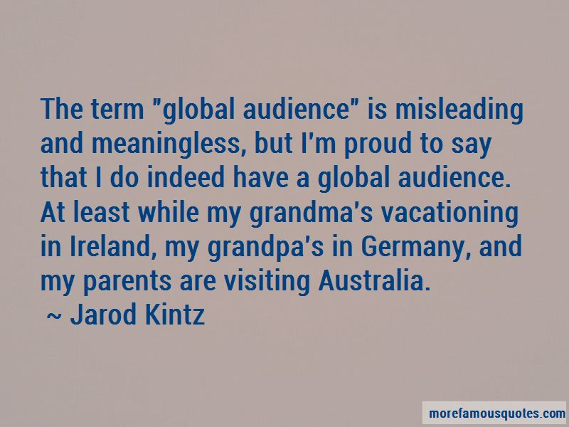 Quotes About Visiting Australia