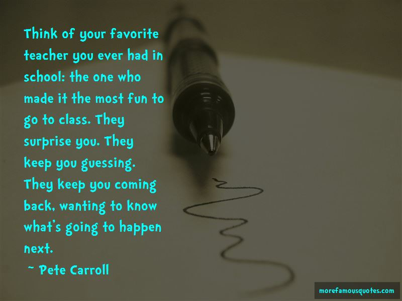 Quotes About Your Favorite Teacher