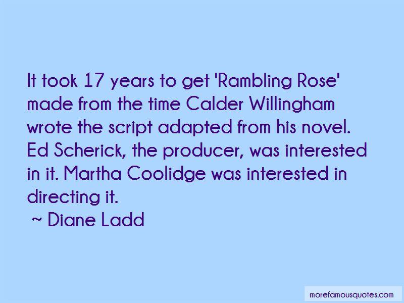 Rambling Rose Quotes