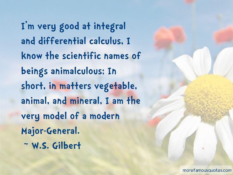 Short Calculus Quotes