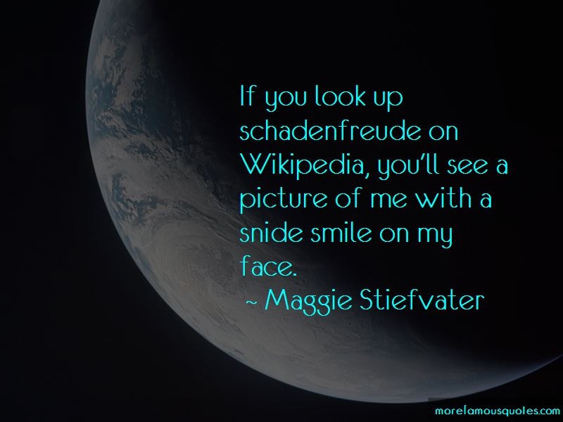 Snide Picture Quotes
