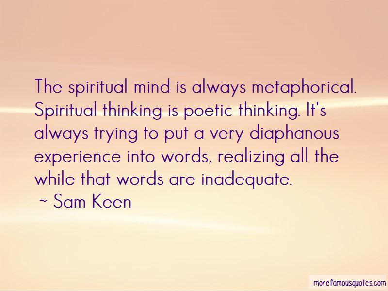 Spiritual Inadequate Quotes