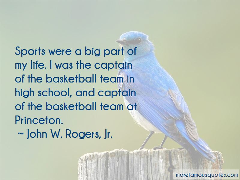 Sports Captain Quotes