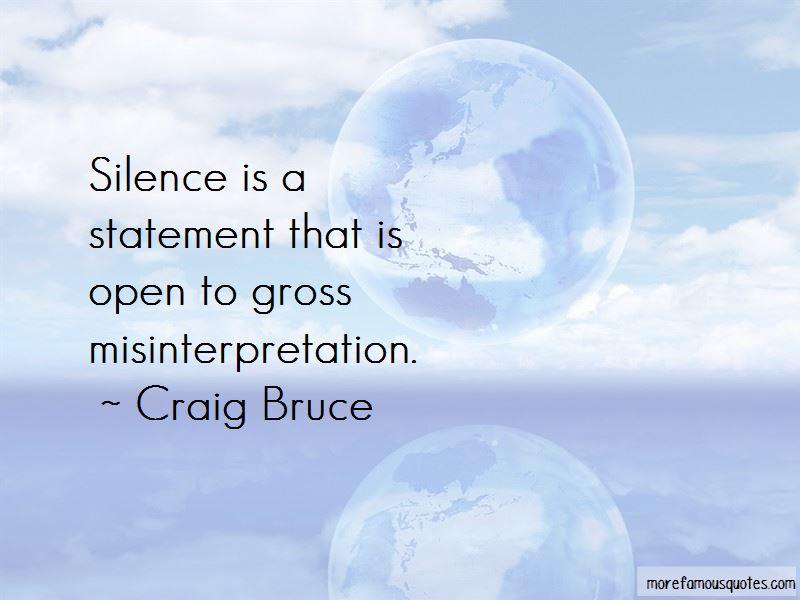 Statement Misinterpretation Quotes