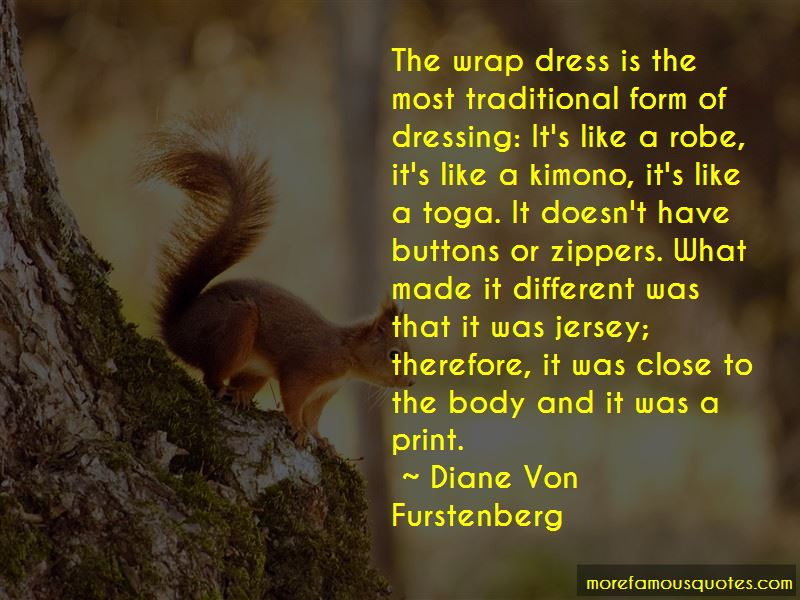 Traditional Dressing Quotes