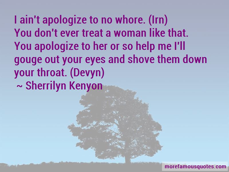 Treat A Woman Like Quotes