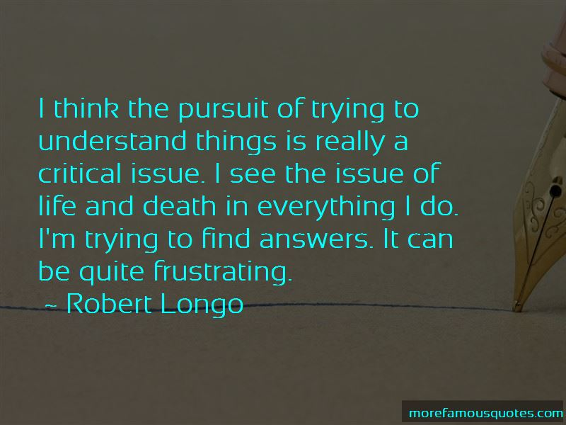 Trying To Understand Death Quotes