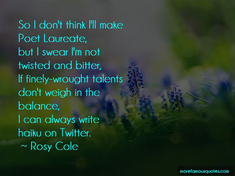 Twitter Bitter Quotes