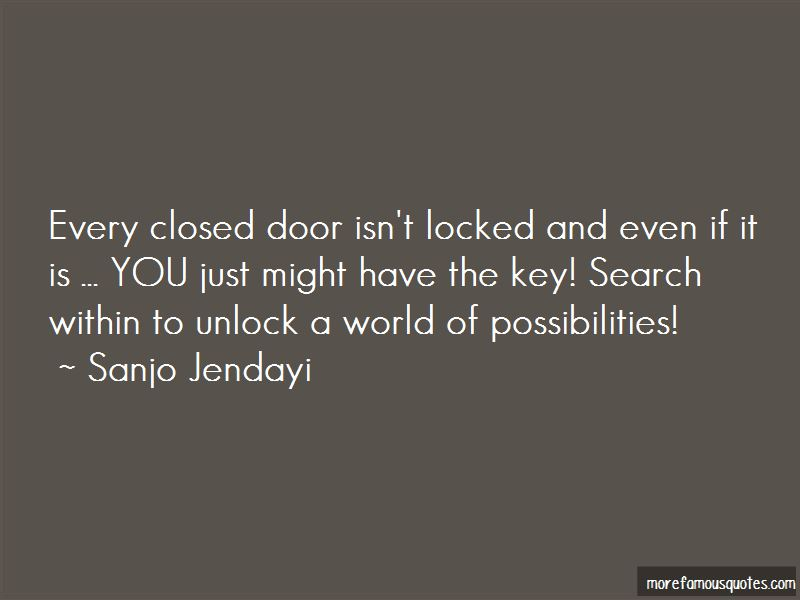 Unlock The Possibilities Quotes Pictures 2
