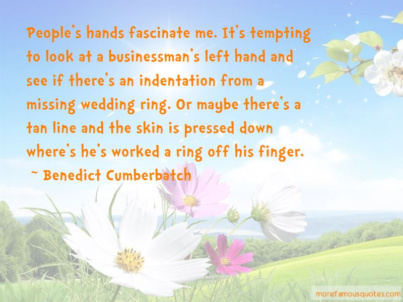 Wedding Ring Finger Quotes