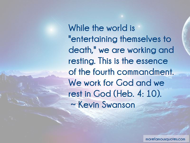 Work For God Quotes