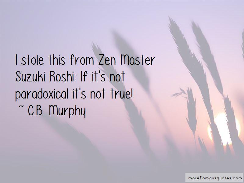 Zen Master Suzuki Quotes