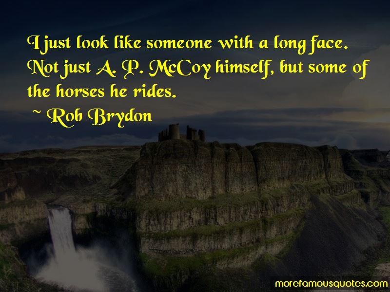 A P Mccoy Quotes