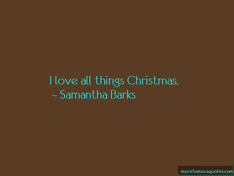 All Things Christmas Quotes