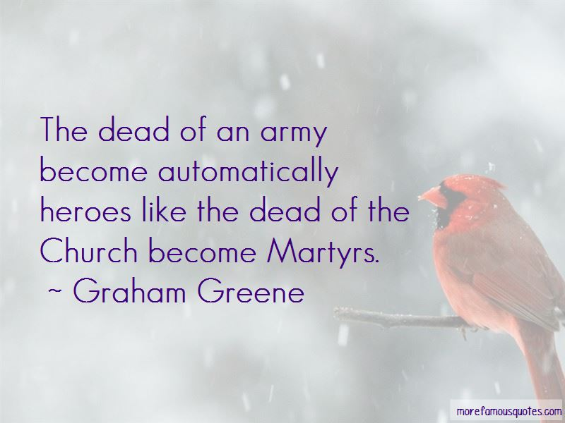 Army Martyrs Quotes