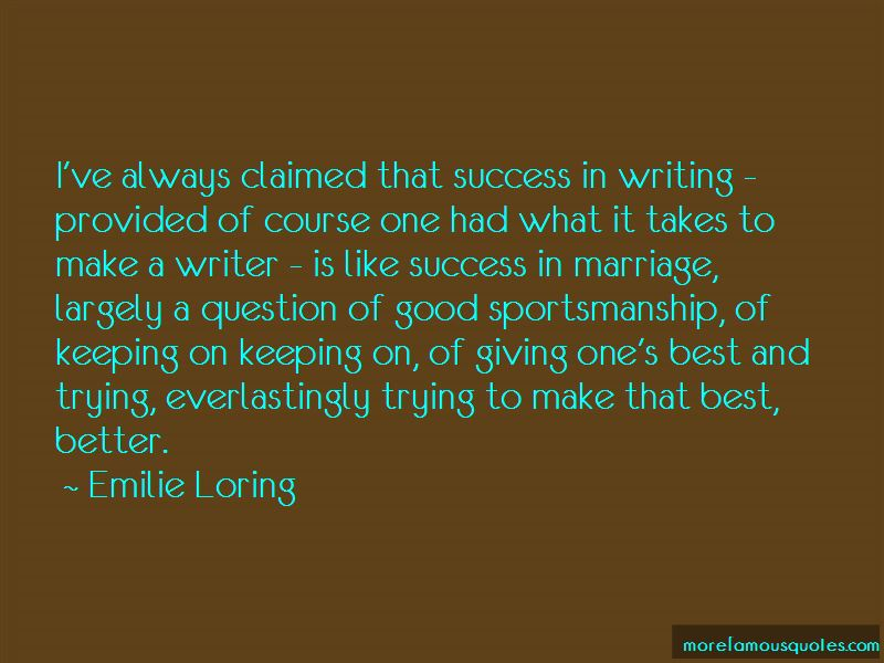 Best Sportsmanship Quotes