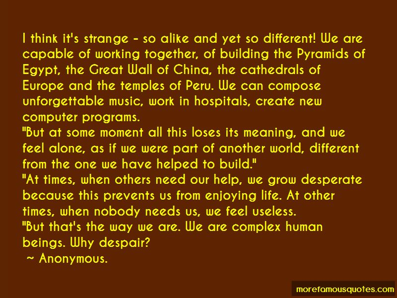 Building Our Life Together Quotes