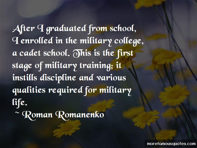 Cadet Training Quotes