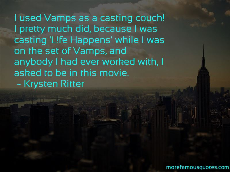 Casting Couch Quotes