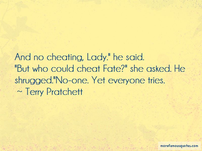Cheating Lady Quotes
