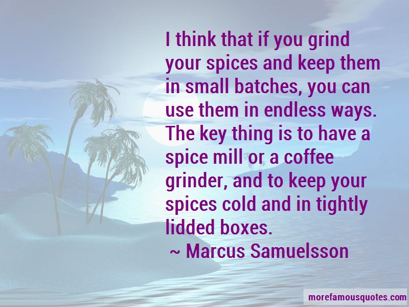 Coffee Grinder Quotes