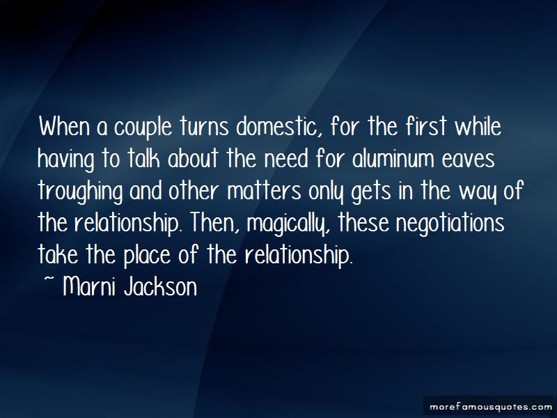 Domestic Relationship Quotes Pictures 2