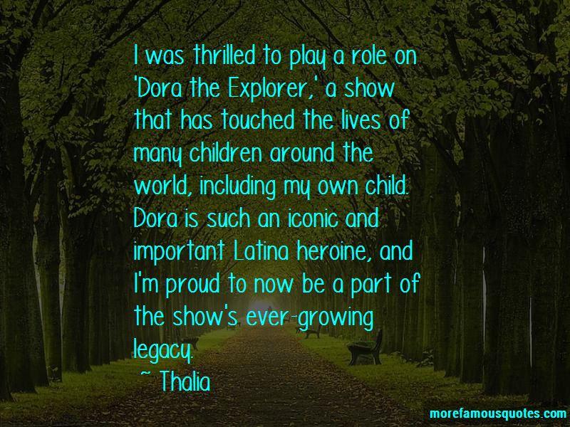 Dora Explorer Quotes