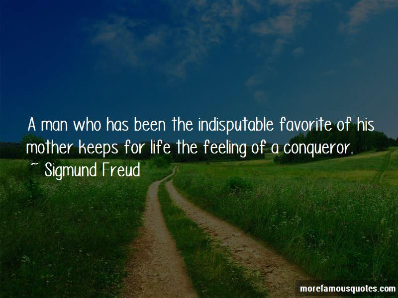 Feeling Conqueror Quotes
