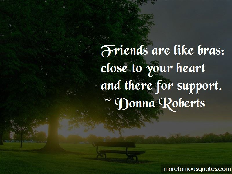 Friends Are Like Bras Quotes Pictures 2