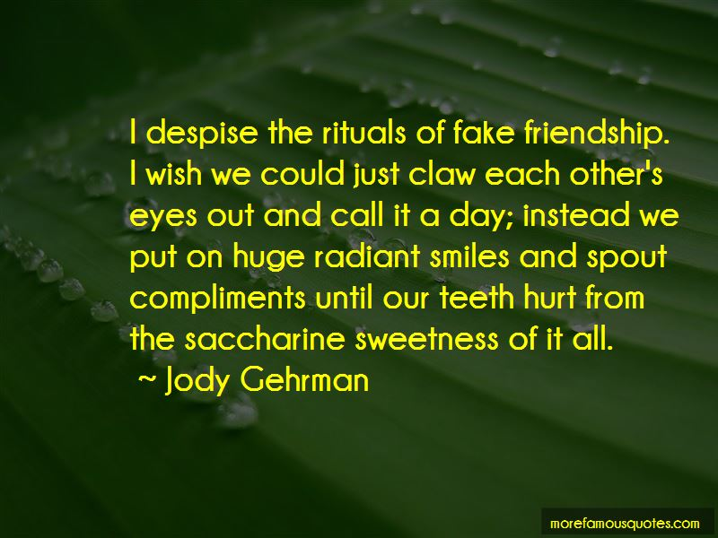 Friendship Is Fake Quotes Pictures 3