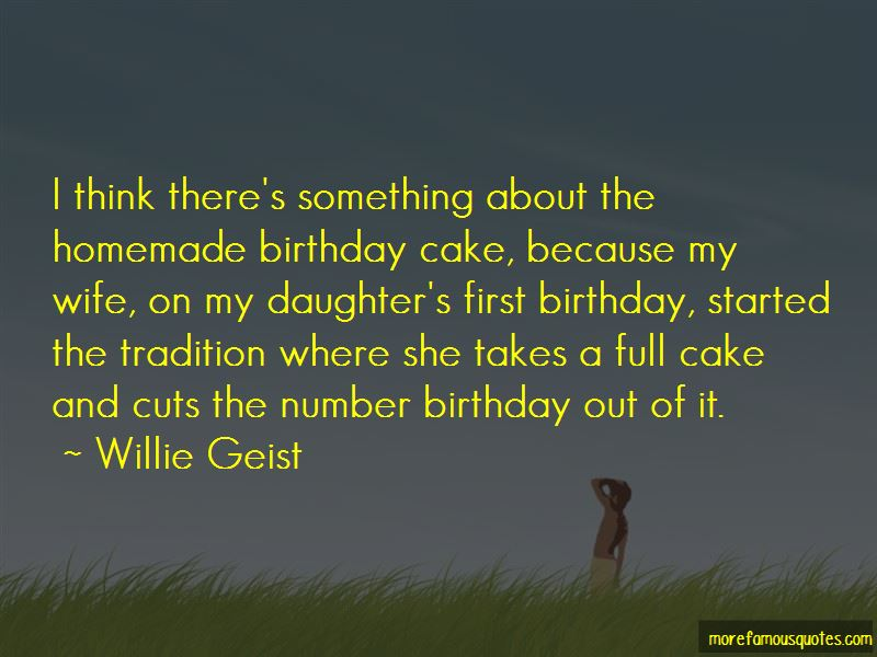 Homemade Birthday Cake Quotes