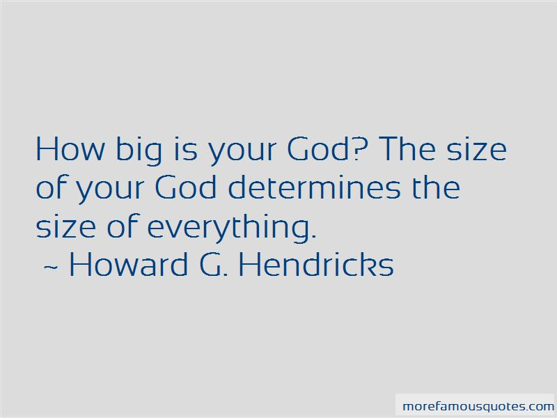 How Big Is Your God Quotes