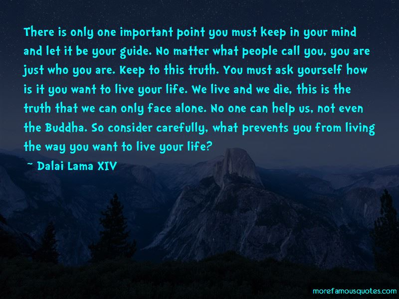 How To Live Life Alone Quotes