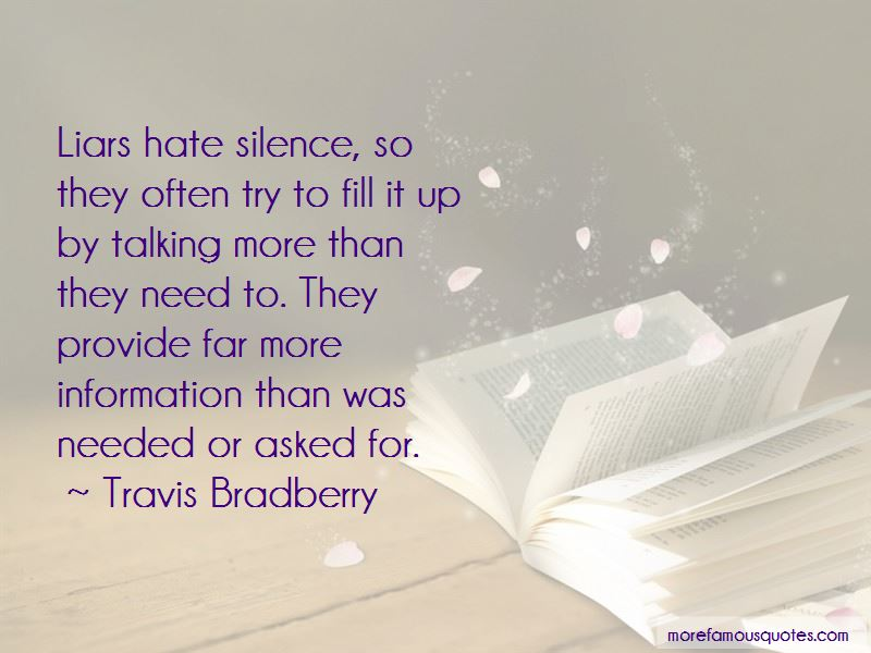 quotes about hating liars