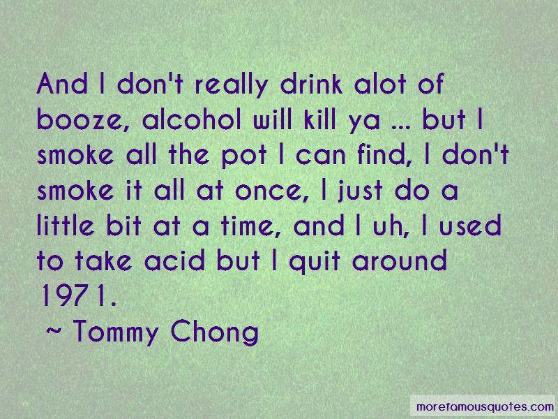 I Quit Alcohol Quotes