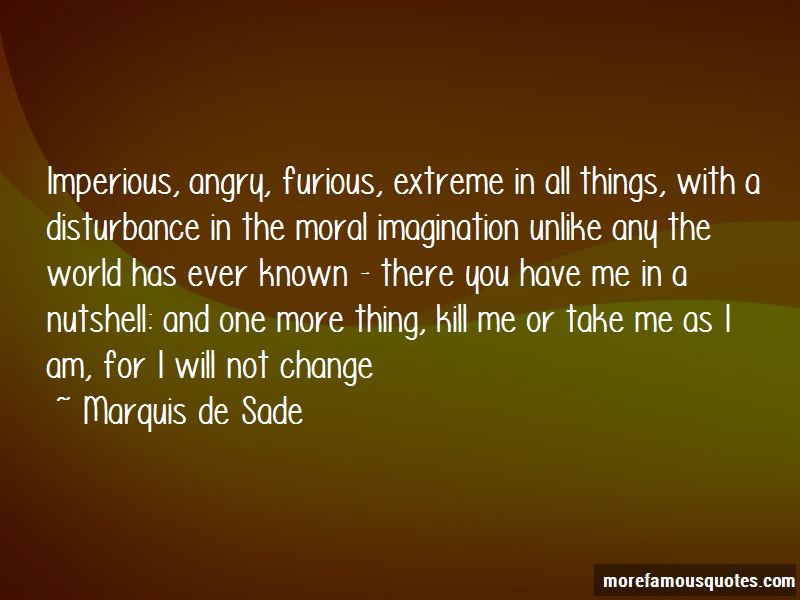 I Will Not Change For You Quotes