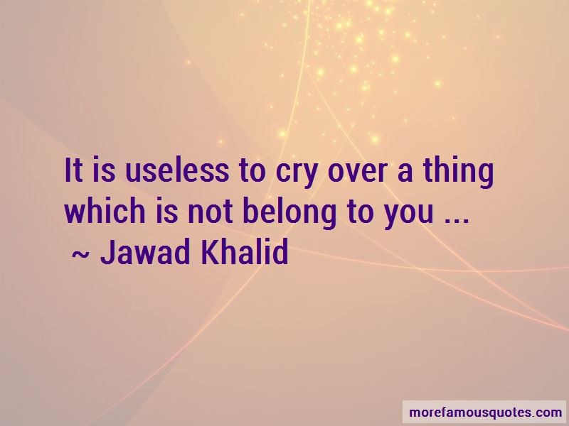 If I Cry Over You Quotes Pictures 3