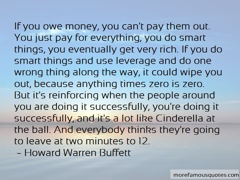 If You Owe Money Quotes