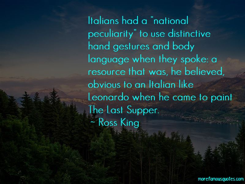 Italian Hand Gestures Quotes