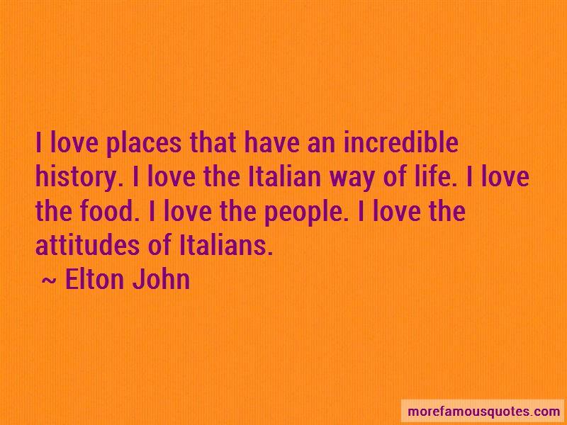 Italian Way Of Life Quotes