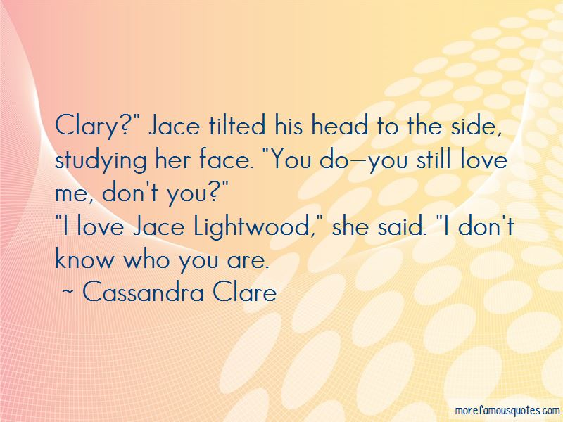 Jace Lightwood Quotes