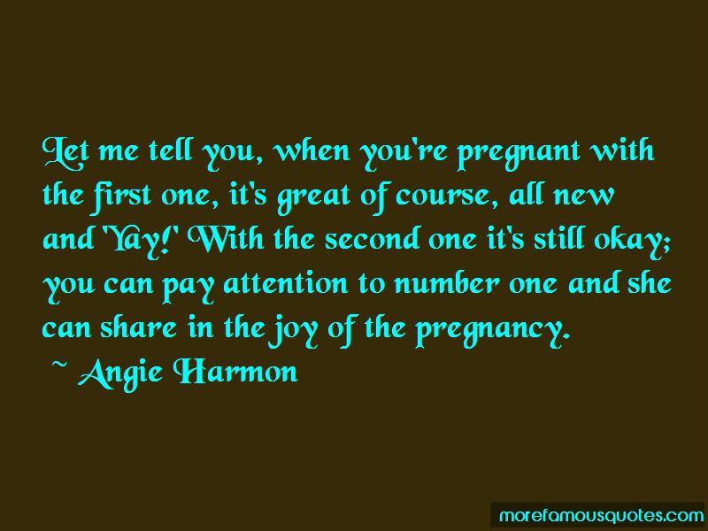 Joy Of Pregnancy Quotes Pictures 2