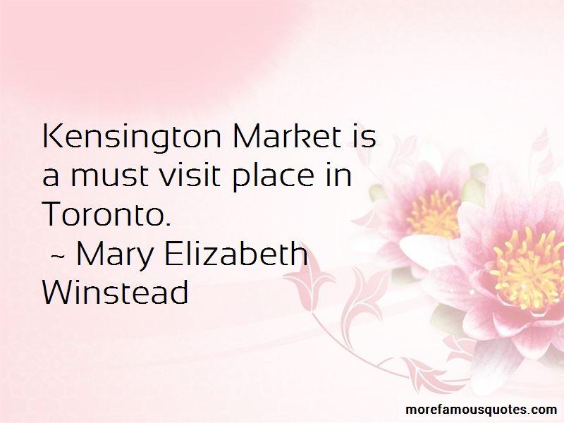 Kensington Market Quotes